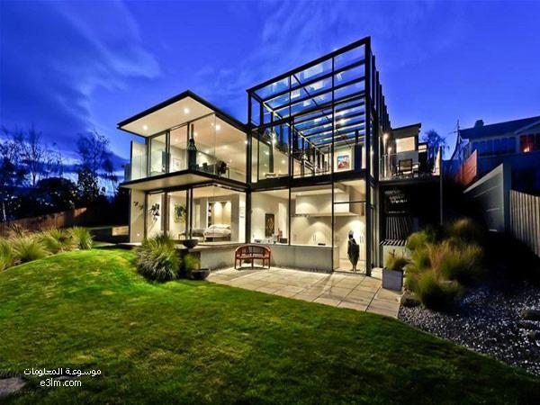 منزل زجاجي